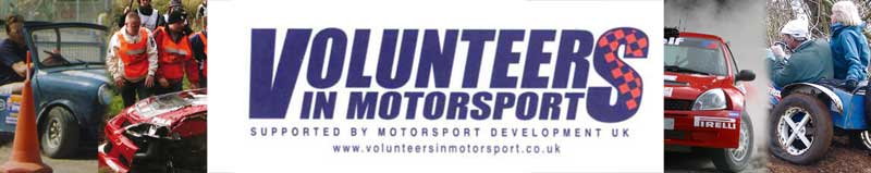Volunteers in Motorsport